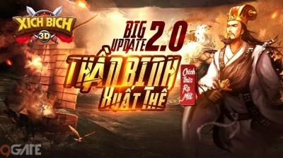 Big Update 2.0 – Xích Bích 3D tung tính năng khủng càn nát đội hình địch, tặng Siêu code Thần Binh