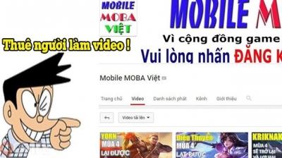 Liên Quân Mobile: MOBA Việt đáp trả ra sao sau cáo buộc thuê người làm video của Tùng Xêkô