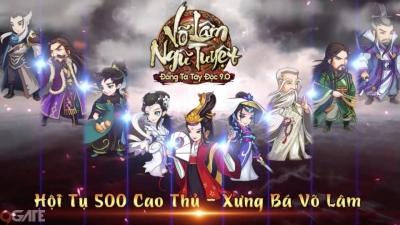 """Đông Tà Tây Độc 9.0: Thiên Hạ Ngũ Tuyệt chính thức ra mắt, tặng ngay Giftcode """"xịn"""""""