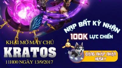 Kỵ Sĩ Rồng tặng 500 Giftcode mừng ra mắt máy chủ Karatos
