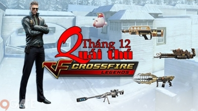 Crosfire Legends: Tổng quan về bộ 3 quái thú mới lộ diện trong vòng quay tháng 12