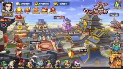 SohaGame mở hàng cho năm mới bằng tựa game chiến thuật theo lượt Tam Quốc Quần Anh Truyện
