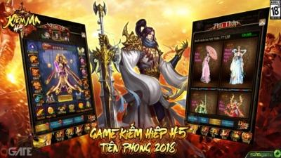 Kiếm Ma H5: Tựa game kiếm hiệp đa nền tảng cho phép cướp