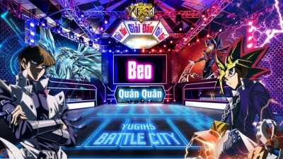 Yugih5: Bài thủ Beo- trở thành quán quân của giải đấu Battle City