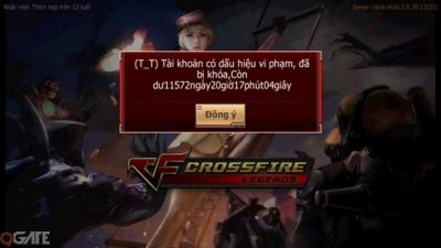 Crossfire Legends update hệ thống chống hack, 'khóa cổ' nhiều tài khoản