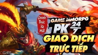 Tây Du Phong Thần Ký: MMORPG giao dịch trực tiếp, PK rớt đồ 24/7 chính thức ra mắt
