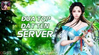 """Chính thức ra mắt, Phi Tiên Mobile """"chơi trội"""" đặt tên máy chủ theo tên game thủ"""