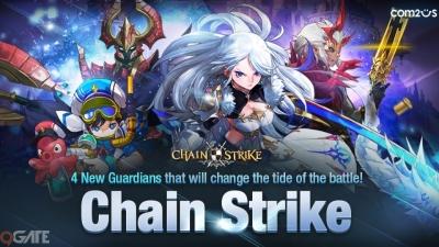 Chain Strike ra mắt update lớn đầu tiên, tung ra 4 nhân vật mới