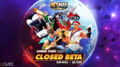 Hesman Legend ấn định ngày mở cửa phiên bản Closed Beta