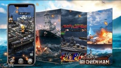 Đại Chiến Hạm 3D - Game chiến thuật 3D bối cảnh Thế Chiến xuyên đại dương cực lôi cuốn
