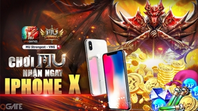 iPhone X cực chất của MU Strongest sẽ vào tay ai?