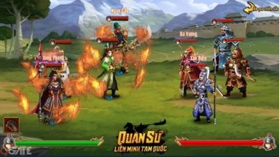 Quân Sư Liên Minh Tam Quốc - Bản sao trên mobile của webgame Long Tướng