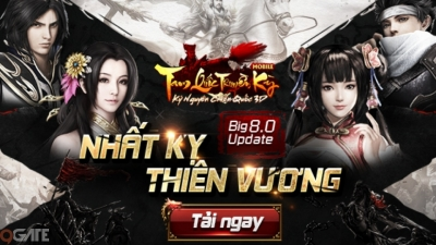 Tam Quốc Truyền Kỳ Mobile chính thức update 'Nhất Kỵ Thiên Vương', gửi tặng GiftCode trị giá 500.000 VNĐ