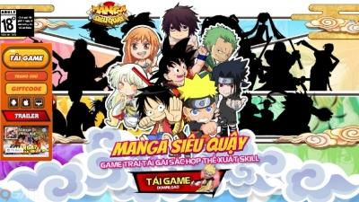 Manga Siêu Quậy - gMO hẹn hò kết đôi vui nhất 2018 chính thức ra mắt landing, mở tải sớm trên Android