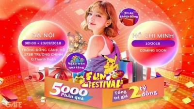 """Đi dự hội game thủ Fun Festival 2018: """"Gặp Ngàn Gái Xinh – Ring Ngàn Quà Tặng"""""""