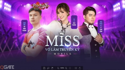 Bộ 3 giám khảo quyền lực của Miss Võ Lâm Truyền Kỳ Mobile