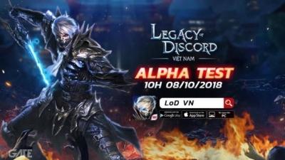 Legacy Of Discord Việt Nam chốt hạ Alpha Test trong tháng 10