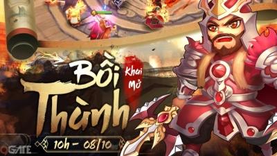 Thiên Hạ Anh Hùng ra mắt máy chủ mới Bồi Thành, tặng 500 Giftcode trải nghiệm