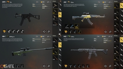 PUBG Mobile: Top 4 khẩu súng được sử dụng nhiều nhất trong game là những khẩu súng nào?