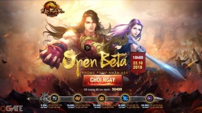 Võ Lâm Truyền Kỳ H5 tặng Giftcode mừng Open Beta