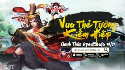 Giang Hồ Hiệp Khách Lệnh chính thức ra mắt, tặng 2000 Giftcode, fan kiếm hiệp Kim Dung không chơi là thiệt