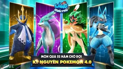 Làng Quái Thú Mobile: Game dành riêng cho fan Pokemon chính thức mở tải, tải càng sớm quà càng nhiều