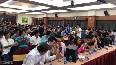 Bất chấp mưa bão, 500 anh em Nhất Kiếm Giang Hồ vẫn tề tựu trong buổi buổi offline tại TP. Hồ Chí Minh