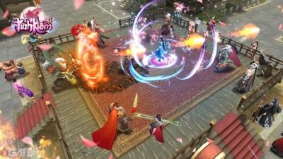 Tình Kiếm 3D Funtap tái hiện lại những chiến trường kinh điển của dòng game Kiếm hiệp Võ lâm