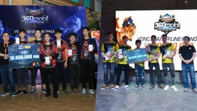 VEC Fantasy Main và Buffalo Esports tiến bước vào chung kết giải 360mobi Championship Series
