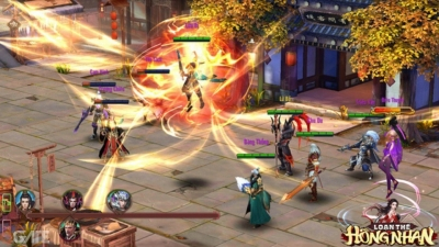 Loạn Thế Hồng Nhan cho người chơi tham gia vào các trận đánh lịch sử thời Tam Quốc