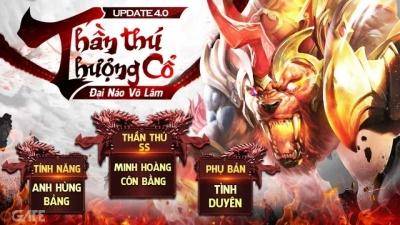 Nhất Kiếm Giang Hồ - Funtap chính thức ra mắt Big Update 4.0 Thần Thú Thượng Cổ, tặng ngay 500 giftcode