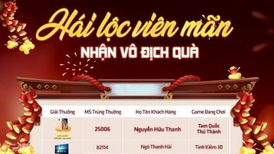 Game thủ Việt trúng đậm từ sự kiện Hái Lộc Đầu Xuân của Funtap