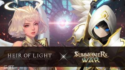 Các nhân vật trong Summoners War bất ngờ xuất hiện ở bản cập nhật mới nhất của Heir of Light