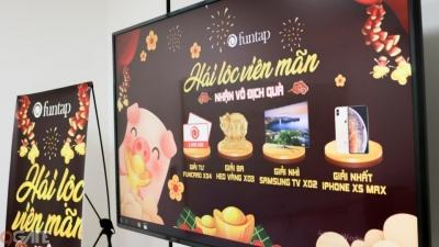 Điện thoại iPhone Xs, Tivi Samsung, Heo vàng 999 đã được NPH Funtap trao đến tay game thủ