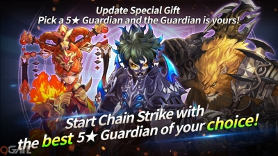 Chain Strike mừng 1 năm ra mắt bằng update khủng, tặng người chơi Guardian 5 sao miễn phí
