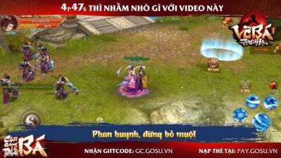 Võ Bá Thiên Hạ ra mắt bài hát game cực chất - Vừa nghe nhạc vừa có quà