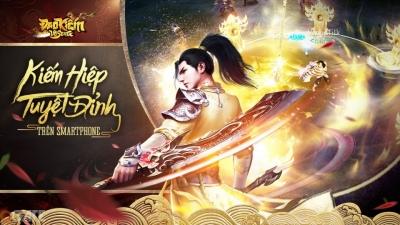 Đao Kiếm Vô Song Mobile thống trị các bảng xếp hạng game sau ngày ra mắt đầu tiên