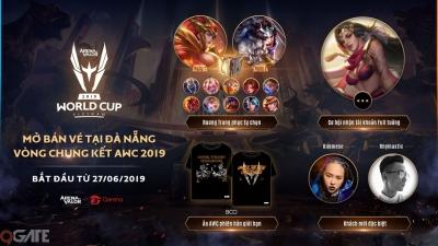 Liên Quân Mobile: Mở bán vé tại Đà Nẵng vòng chung kết AWC 2019 từ ngày 27/06