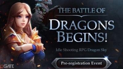 Dragon Sky: Idle & Merge – game bắn rồng của Com2us mở đăng ký trước trên Google Play