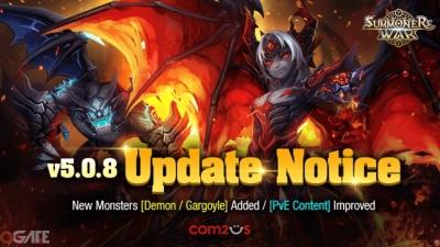 Summoners War tung ra bản update khủng với sự xuất hiện của hai quái thú mới