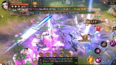 Giang Hồ Chi Mộng Tuyệt Thế Võ Lâm tự hào được có được cộng đồng game thủ nhiệt huyết bậc nhất ủng hộ