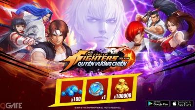 Hướng dẫn nhận giftcode KOF AllStar VNG – Quyền Vương Chiến