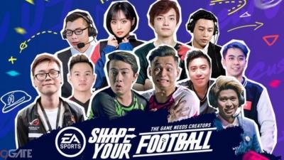 Độ Mixi, Cris Devil Gamer, QTV, Minh Nghi cùng dàn Streamer 'Khủng' hội tụ cùng quẩy Volta Live FIFA Online 4