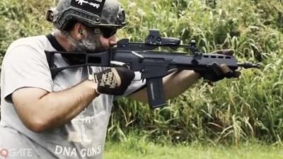 Súng trường trong game khác xa so với ngoài đời, thậm chí, không có khẩu súng nào là M416 cả