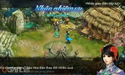Trải nghiệm game mobile online Đồ Long Ký